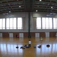 20170115記録(kata54)、訓子府町スポーツセンター(室内テニス)