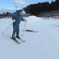 スキーに挑戦