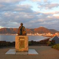 石川啄木と函館山と立待岬