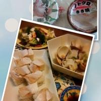 ●のどぐろのささ漬をつかって押し寿司、等。
