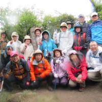 九千部岳ヤマボウシ登山会