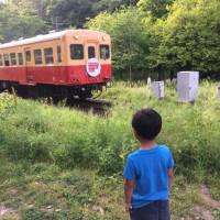 小湊鉄道のトロッコ列車