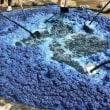 2014年6月~7月 リュウキュウアイ収穫~沈澱藍製造~藍建て~染色,今年は5回!