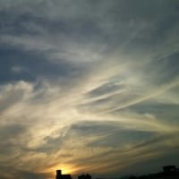 夕方の空♪