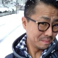 福知山も雪降りました!