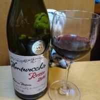 本日のワインは モンテヴエッキオ ロッソ