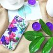 あなたのために、ちょうおしゃれアイリスの花のiPhone7ケース