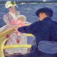 アメリカの画家メアリ・カサットが生まれた。