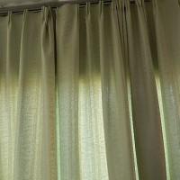 カーテンを作りました。