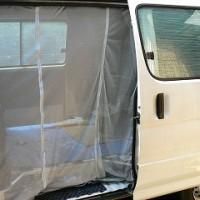 車の網戸作り2012