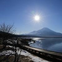 2017/02/15  ダブルダイヤモンド富士 山中湖 💎💎