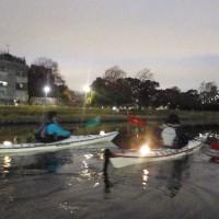 晩秋の東京水路