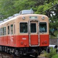 阪神 武庫川駅第一踏切(2013.6.9) 赤胴車7864F武庫川線入線
