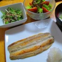 サバ缶と水菜の洋風和え物