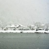平成28年睦月の生坂村の朝の風景