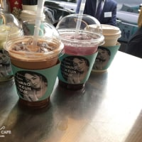 coffee_mrkim김대리さん Happy Birthday (^O^)  2016チャン・グンソク アジア ツアーコーヒーサポート(2016,9)