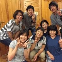 福島県民 in ログハウス