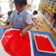 あお 3歳児 絵画・野菜収穫・プール