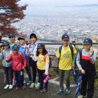 金華山に登る