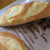 ベーカリーのフランスパン