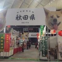 秋田のブースに遊びに来てください♪