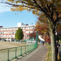 11月16日いい色の日、安城高等学校を訪ねる