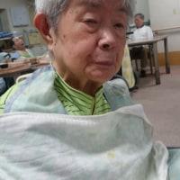 92才の介護記録、彼女の盲目はホームの入園の前後?ボクの入院、彼女のインフル、計、3週間のボクとの隔離?