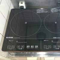 【IH設置完了】メゾングッチにアイリスオーヤマ製IH200V