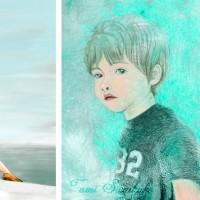 ポストカード販売「海と少年」「蒼い少年」
