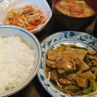 「今日のお昼ご飯」!!「豚もやし炒め」!!