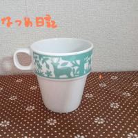 鹿のマグカップ