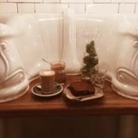 小便器前でお茶