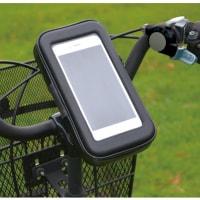 スマホを充電しながら使用できるホルダー「自転車でGO!」