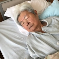 93才の介護ダイアリー、輸血入院の三日目、6度台の微熱が引かない,病院へ行ったら、インフラだった、
