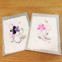 越前手漉き和紙のグリーティングカード