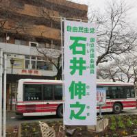 12月7日 本日は矢川駅で朝の市政報告を行い国立市長選挙の話題を中心に報告しました。