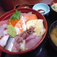 松戸「オープンフォレスト」と大黒の「海鮮丼」