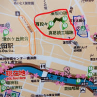 2017・4・24 おばさんぽ 幻の横浜真葛焼窯場跡のレンガ塀