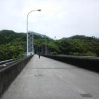 早明浦ダムから臨む町・・・土佐町
