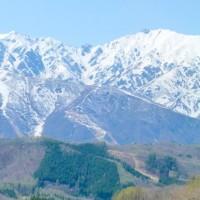 五月の白馬山麓・安曇野・・・花見ツアーの最後は・・・白沢洞門・嶺方峠を越えて帰路に