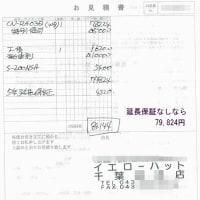 大手カー用品店でのカーナビ購入検討2(千葉)