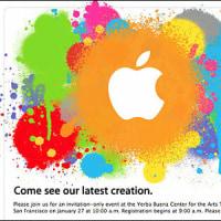 Apple招待状シリーズ