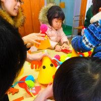 今年最後の活動報告、稚咲内でクリスマス会!!とセンターで餅つき
