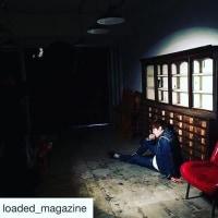 LOADED loaded_magazine 次号 ファッションストーリー&インタビューにチャン・グンソクさんが登場!