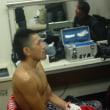 五十嵐選手「日本ライト級チャンピオンを目指す」練習再開