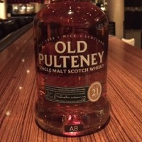 OLD PULTENEY21YEARS  700ml,46%