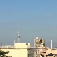 青空が最高、暑い一日になりそうですね(^o^)(^o^)