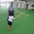 みどり 4歳児 剣道☆プール