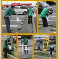 201.2.22島根・益田 ゆめタウン益田周辺で171PR・清掃活動