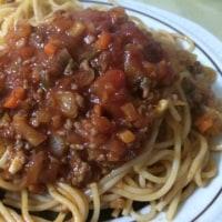 スパゲティでした